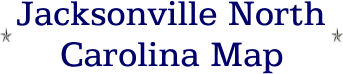 Jacksonville North Carolina Map